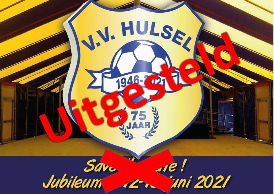 Jubileum uitgesteld!