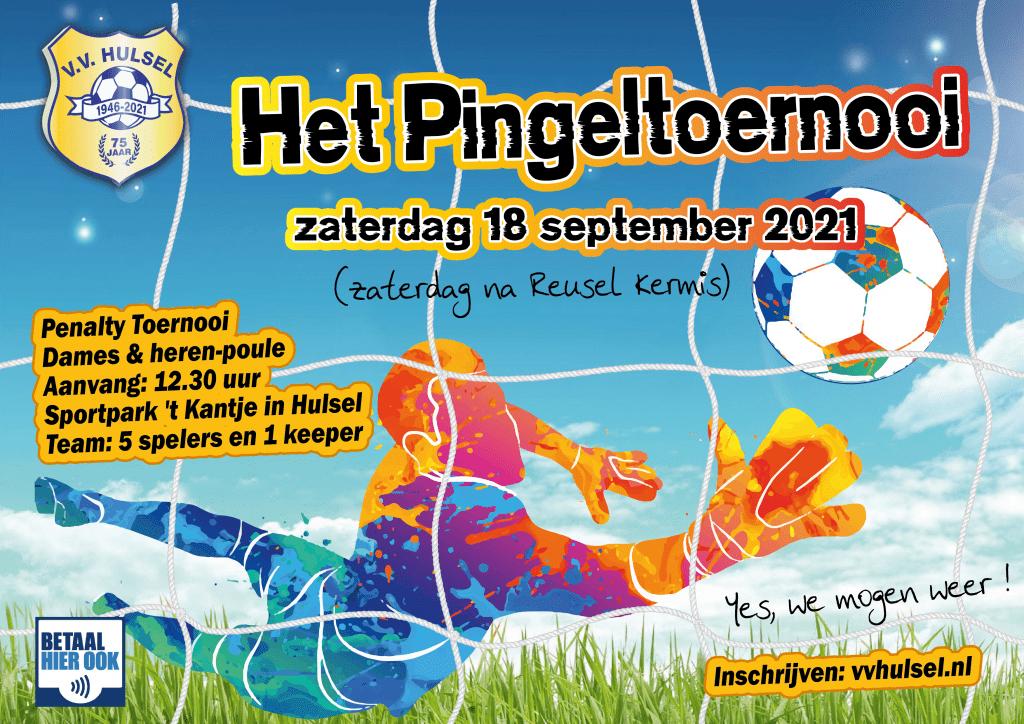 Het Pingeltoernooi 2021 weer op komst!